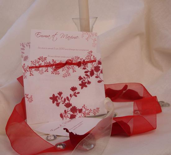 Invitatie de nunta in stil japonez, rosie BUSQUETS