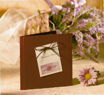 Invitatie de nunta bordo