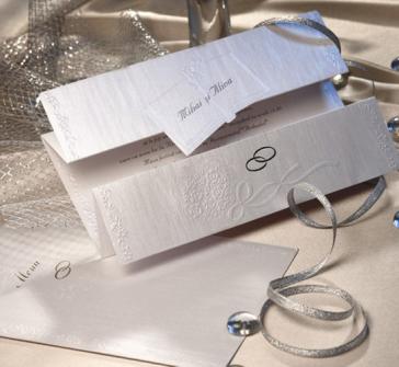 Invitatie nunta argintie cu carticica