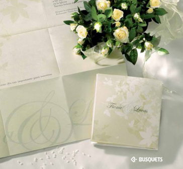 Invitatie de nunta Tendresse