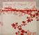 Invitatie de nunta in stil japonez, rosie