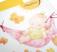 Invitatie de botez cu bebe in hamac - fetita