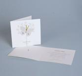 Invitatie de nunta romantica cu fluture
