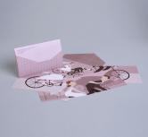Invitatie de nunta tip carte postala