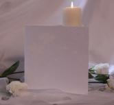 Invitatie de nunta stil japonez, argintie