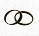 Sigilii aurii nunta in forma de verighete