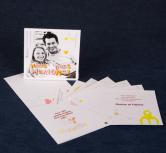 Invitatie de nunta in stil modern cu poza