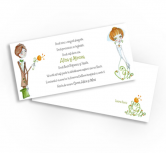 Invitatie de nunta - Bride and Groom