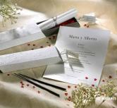 Invitatie de nunta Zen