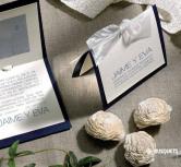 Invitatie de nunta Indigo