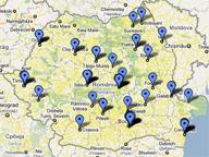 Harta distribuitori